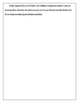 Monologue Punctuation Practice