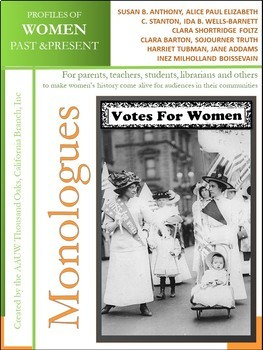 Monologues (10) - Suffragists and Activists