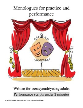 Monologues for practice and performance