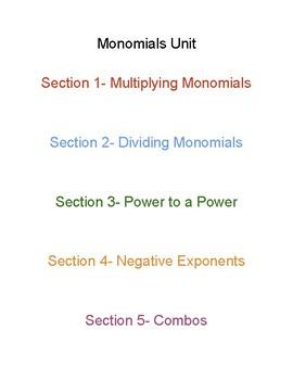 Monomial Unit