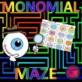 Monomial Maze Activity