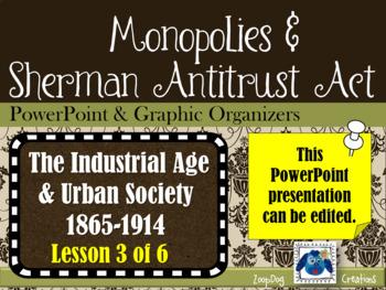 Monopolies and Sherman Antitrust Act