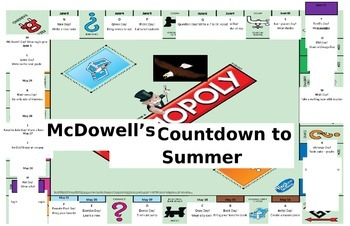 Monopoly ABC Countdown to Summer