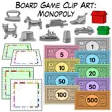 Monopoly | Board Game Clip Art