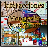 Monopoly Board Games Rules and Vocabulary; Simple Version