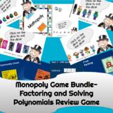 Monopoly Game Bundle   Polynomial Operations   Algebra 2