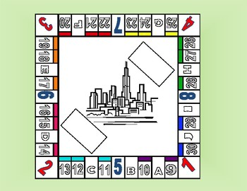 Monopoly Game multi-use including multi-digit multiplication