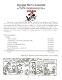 Monopoly Novel Assignment