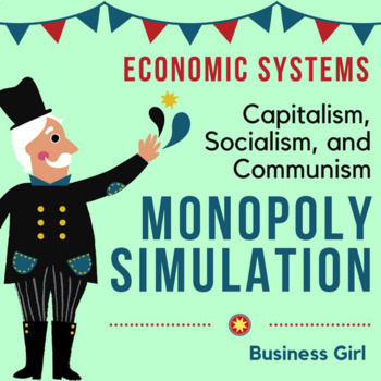 Monopoly Simulation for Economic Systems (Capitalism, Socialism, Communism)