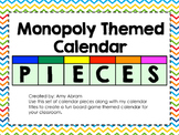 Monopoly Themed Calendar Pieces