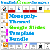Monopoly-Themed Google Slides Template & Bulletin Board Bundle for ANY Content!