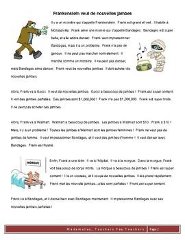 Halloween CI/TPRS script