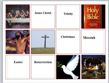 Monotheistic Religions Introductory Activity