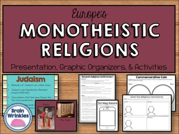 Europe's Religions: Judaism, Christianity, & Islam (SS6G11)