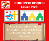 Monotheistic Religions - Multiple Lesson Pack with Project