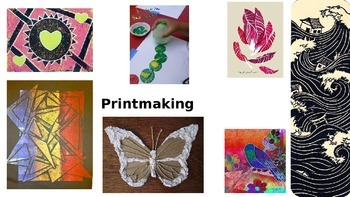 Monotype Printmaking Presentation
