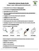 MCSB – 3rd Grade Interactive Science (Study Guide/Test Combo Ch. 1-Lesson 1)