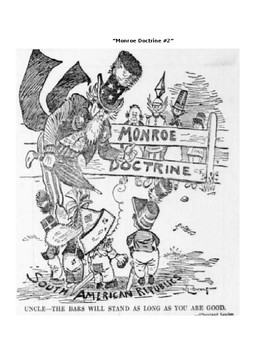 Monroe Doctrine: Analyzing Political Cartoons by A. Risto ...