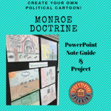 Monroe Doctrine - Create your own political cartoon!