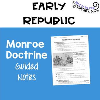 Monroe Doctrine Notes