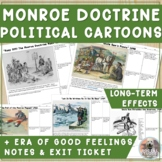 Monroe Doctrine Political Cartoon Analysis & Era of Good F