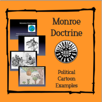 Monroe Doctrine - Political Cartoon Examples