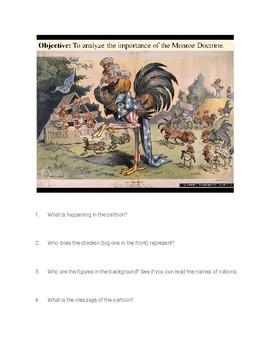 Monroe Doctrine Political Cartoons Analysis