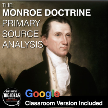 Monroe Doctrine Primary Source Worksheet