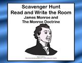Monroe Doctrine- Read and Write The Room Scavenger Hunt