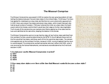 Monroe Doctrine- Read and Write The Room Scavenger Hunt