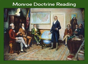 Monroe Doctrine Reading