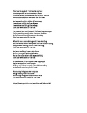 Monroe Doctrine - Song