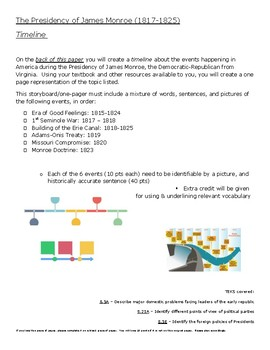 Monroe Timeline One-pager