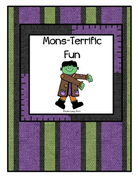 Mons-Terrific Halloween Fun with Math, Reading, and Writing