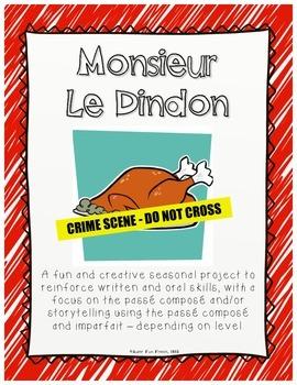 Monsieur Le Dindon - Thanksgiving Project - Past Narration