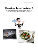 Monsieur Leclerc a faim : CI story for l'article défini, l