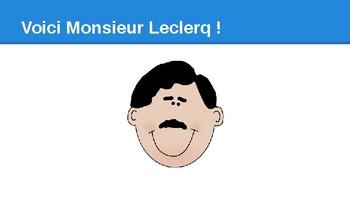 Monsieur Leclerc a faim : PowerPoint presentation
