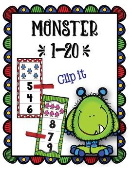 Monster 1-20 Clip-It