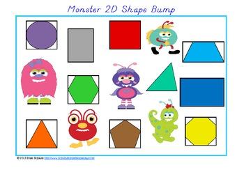 Monster 2D Shape Bump (Geometry)