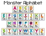 Monster Alphabet Posters