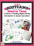 MONSTER ABC BOOTCAMP & HATS! Editable 26 Day Introduction To Letters And Sounds