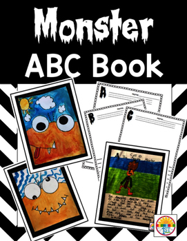 Monster ABC Book Freebie