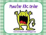 Monster ABC Order