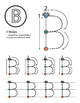 Monster ABC's Coloring Book Worksheets