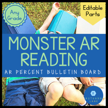 Monster Reader AR Goal Tracker (Editable Name Cards)