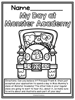 Monster Academy Literature Unit