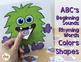 Monster Activities & Halloween Activities for Preschool and Kindergarten