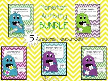 Monster Activity Bundle