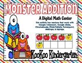 Monster Addition-A Digital Math Center for Google Classroom