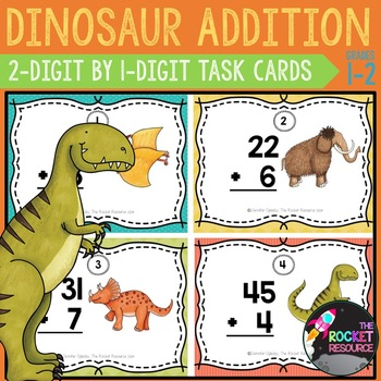 Monster Addition Task Cards